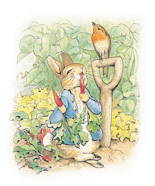 El Conejo De Los Huevos De Pascua Y Peter Rabbit La